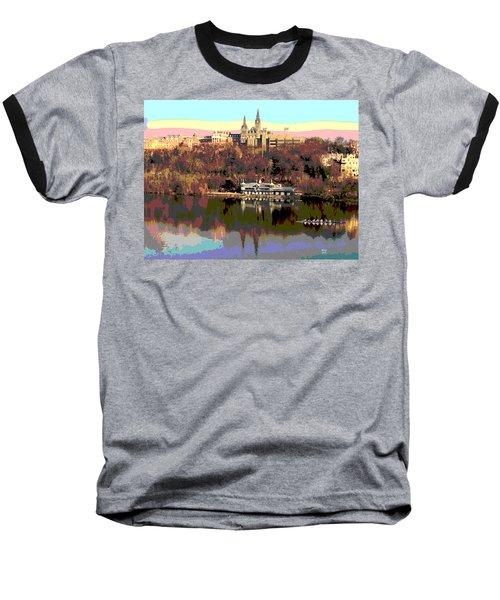 Georgetown University Crew Team Baseball T-Shirt