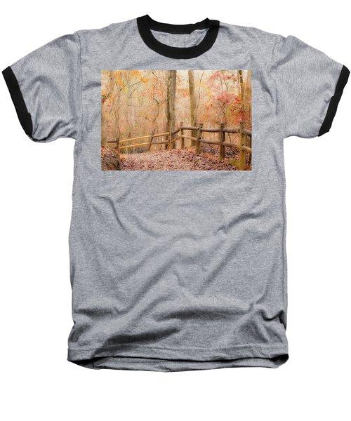 Baseball T-Shirt featuring the photograph Georgia Fall by RC Pics