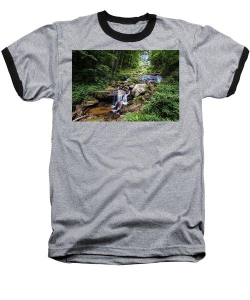 Georgia Mountain Stream Baseball T-Shirt