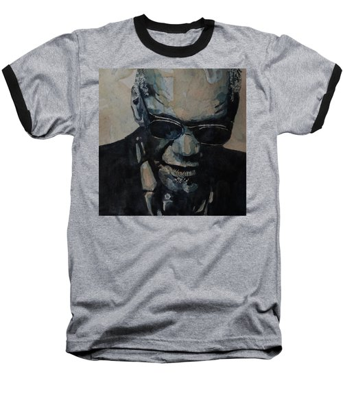 Georgia On My Mind - Ray Charles  Baseball T-Shirt