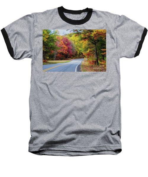 Georgia Scenic Byway Baseball T-Shirt