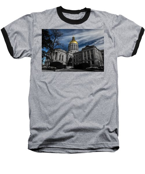 Georgia State Capital Baseball T-Shirt