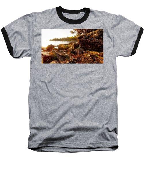 Georgian Bay Sunset Baseball T-Shirt