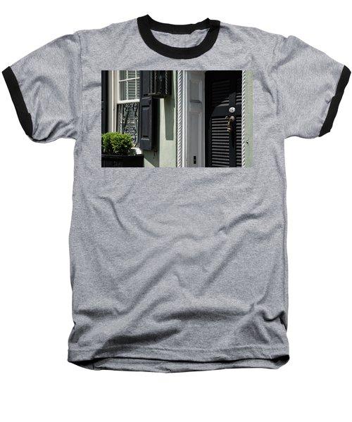 Georgian Gem Baseball T-Shirt by Ed Waldrop