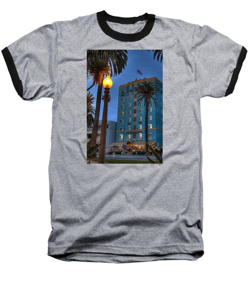 Georgian Hotel Baseball T-Shirt