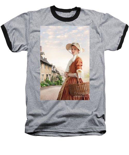 Georgian Period Woman Baseball T-Shirt by Lee Avison