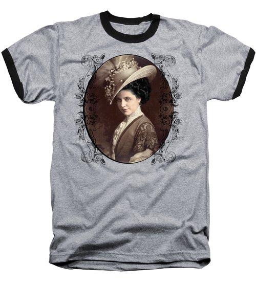 Geraldine Farrar Baseball T-Shirt