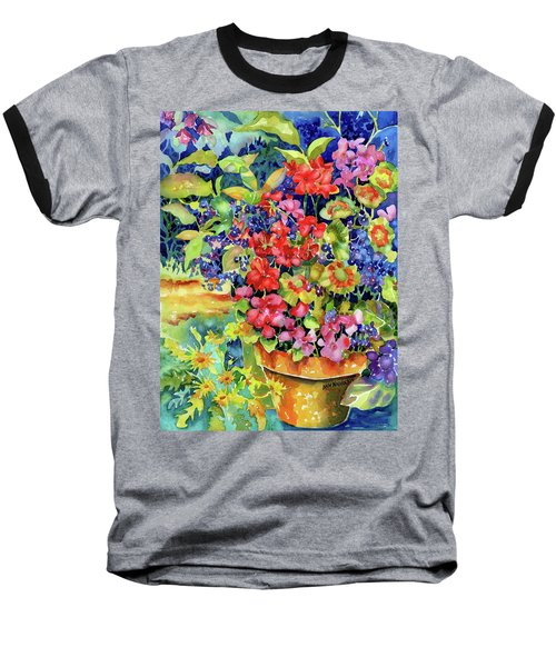 Geranium I Baseball T-Shirt