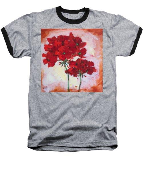 Geranium Baseball T-Shirt