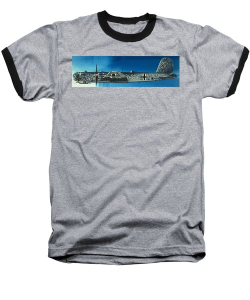 German Aircraft Of World War  Two Focke Wulf Condor Bomber Baseball T-Shirt
