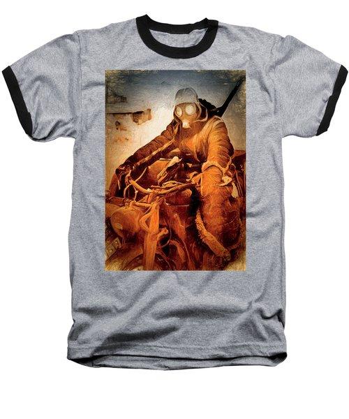 German Biker Baseball T-Shirt