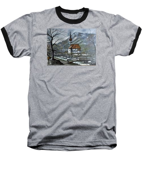 German Church At Ramsau  Baseball T-Shirt
