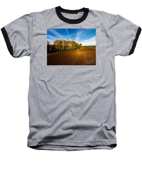 Fields From Above Baseball T-Shirt