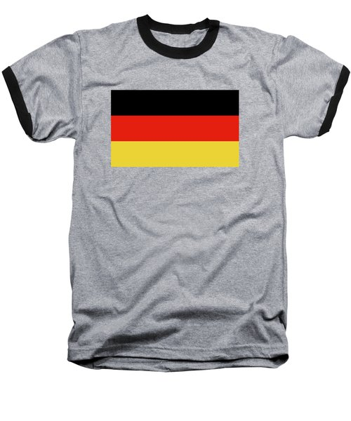 German Flag Baseball T-Shirt by Bruce Stanfield