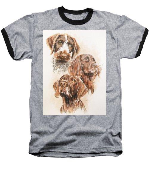 German Pointer Baseball T-Shirt
