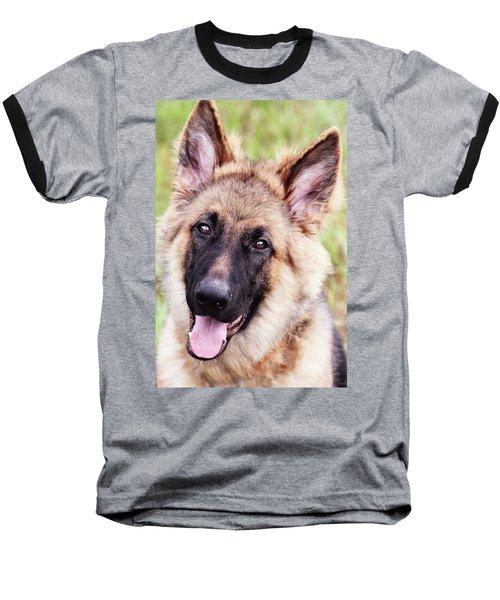 German Shepherd Dog Baseball T-Shirt