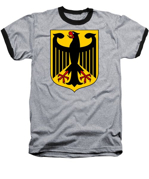 Baseball T-Shirt featuring the drawing Germany Coat Of Arms by Movie Poster Prints
