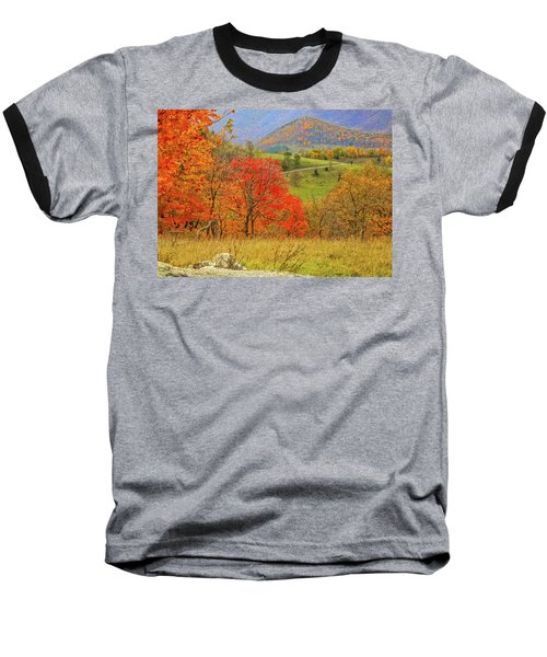 Germany Valley Dressed In Autumn Baseball T-Shirt