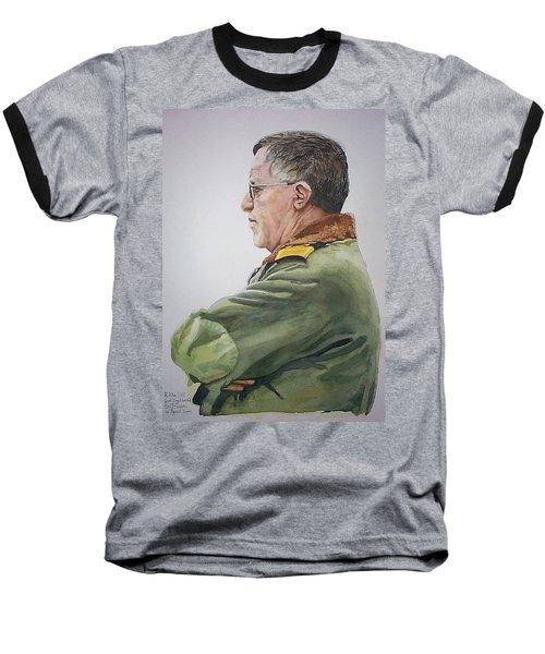 Gert Baseball T-Shirt by Tim Johnson