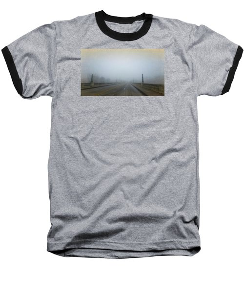 Baseball T-Shirt featuring the photograph Gervais Bridge Christmas Day by Steven Richardson