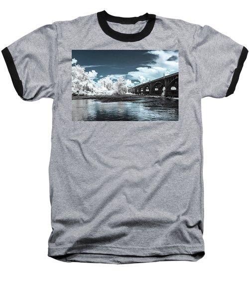 Gervais St. Bridge-infrared Baseball T-Shirt