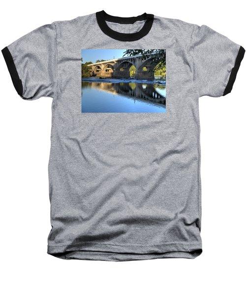 Gervais Street Bridge-1 Baseball T-Shirt by Charles Hite