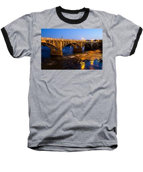 Gervais Street Bridge At Twilight Baseball T-Shirt