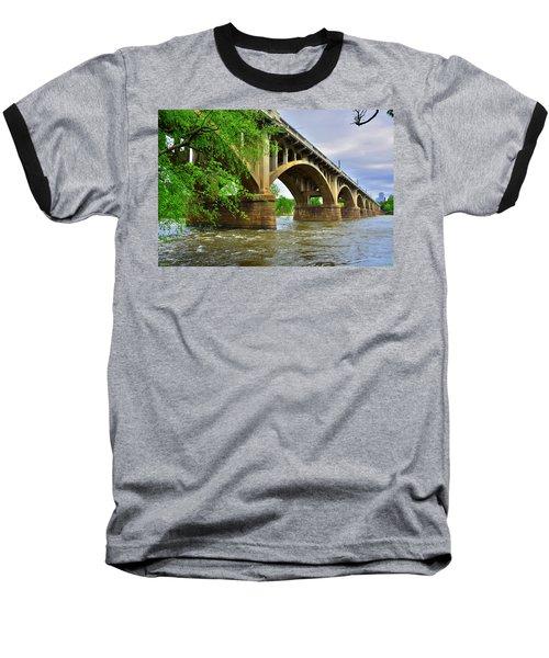 Gervais Street Bridge Baseball T-Shirt