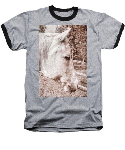 Get My Good Side, Please Baseball T-Shirt