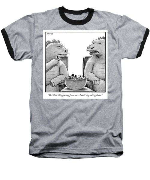 Get Those Things Away From Me Baseball T-Shirt