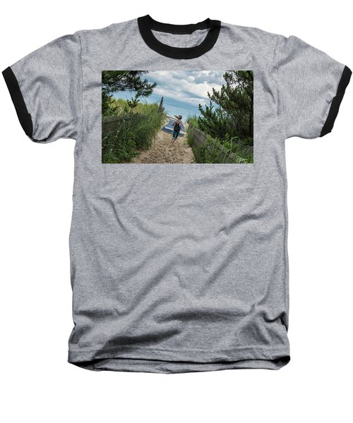 Get To The Beach Baseball T-Shirt