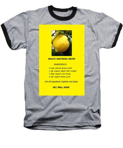 Get Well Soon Baseball T-Shirt by Mary Ellen Frazee