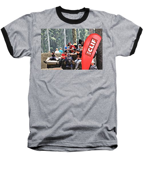 Getting Crowded Baseball T-Shirt