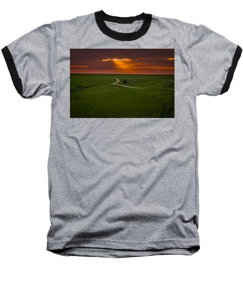 Getting Late Baseball T-Shirt