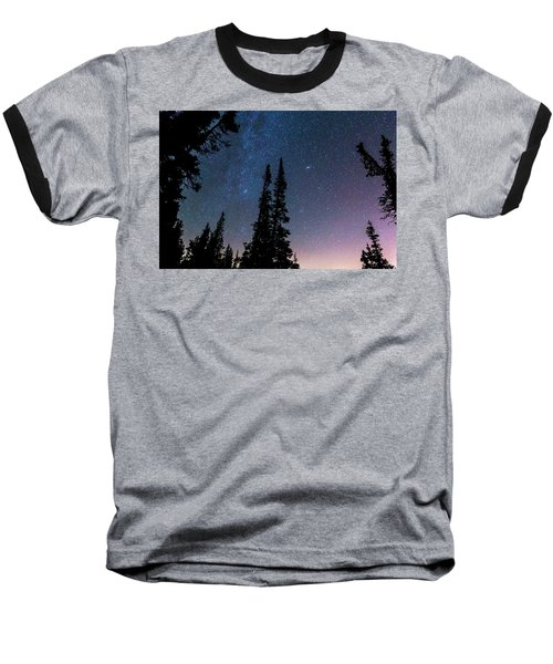 Baseball T-Shirt featuring the photograph Getting Lost In A Night Sky by James BO Insogna