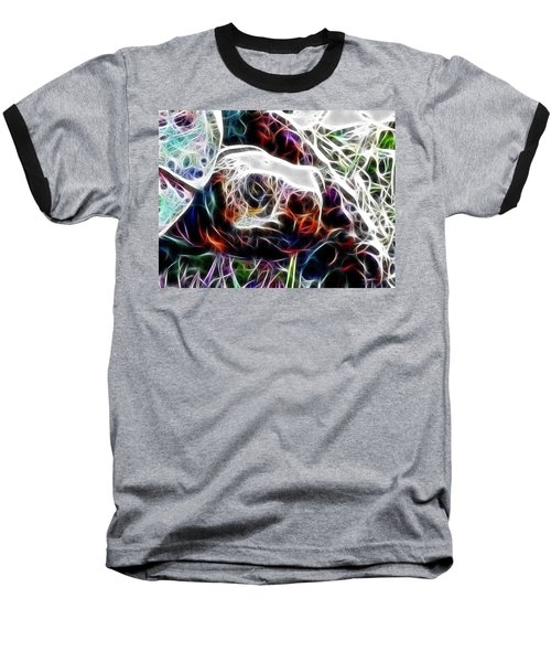 Getting Out Of My Shell Baseball T-Shirt by Douglas Barnard