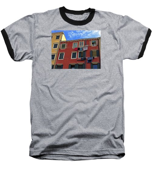 Baseball T-Shirt featuring the photograph Getting To Know You by Lynda Lehmann