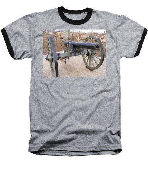 Gettysburg Cannon Baseball T-Shirt
