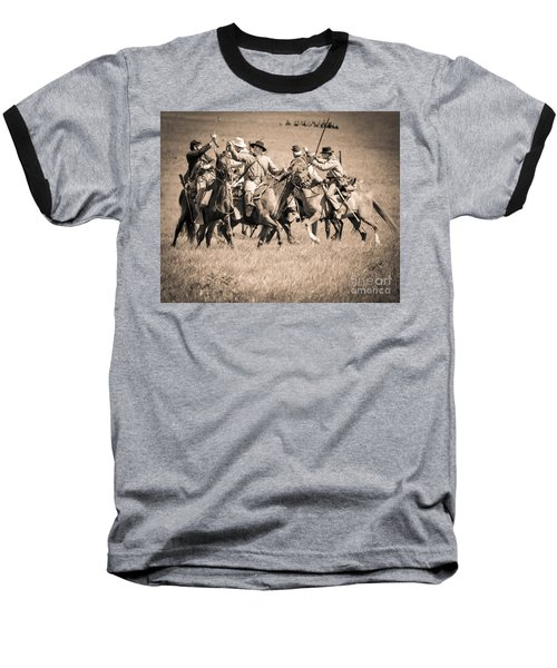 Gettysburg Cavalry Battle 7948s  Baseball T-Shirt