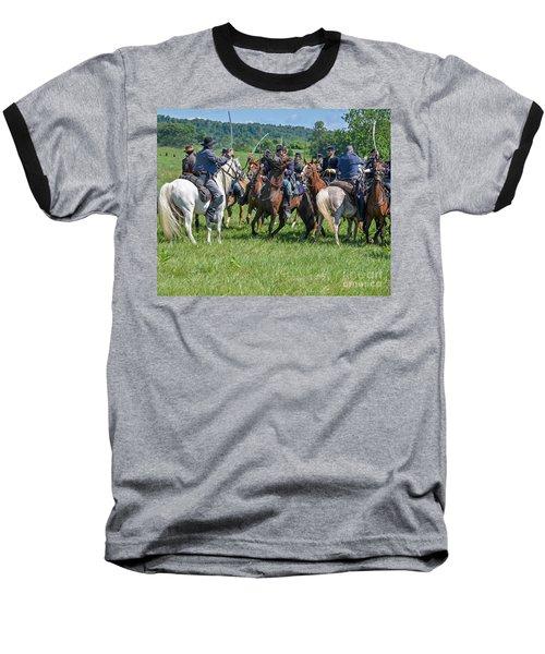 Gettysburg Cavalry Battle 7970c  Baseball T-Shirt