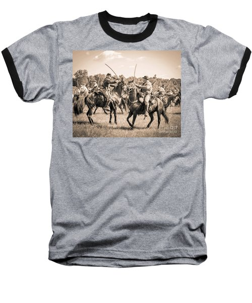 Gettysburg Cavalry Battle 7978s  Baseball T-Shirt