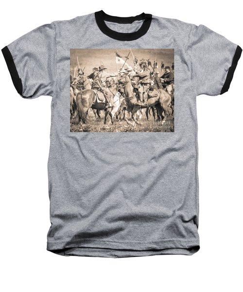 Gettysburg Cavalry Battle 8021s  Baseball T-Shirt