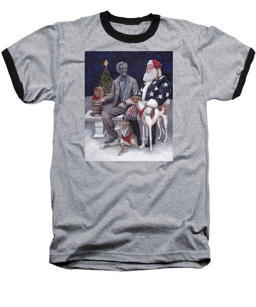 Gettysburg Christmas Baseball T-Shirt