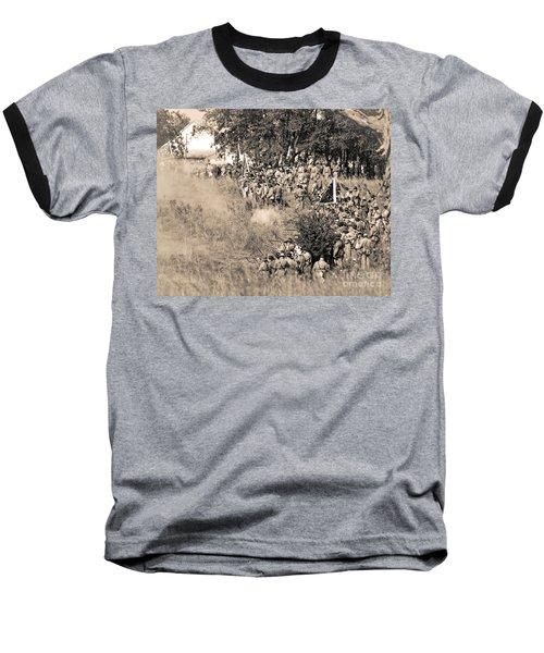 Gettysburg Confederate Infantry 8825s Baseball T-Shirt