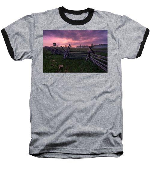 Gettysburg Mornings... Baseball T-Shirt by Craig Szymanski