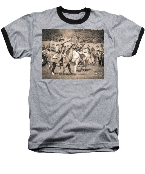 Gettysburg  Union Cavalry 7920s  Baseball T-Shirt