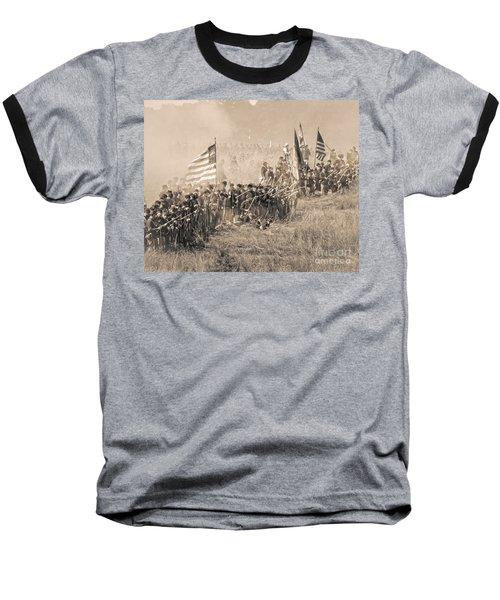 Gettysburg Union Infantry 8948s Baseball T-Shirt