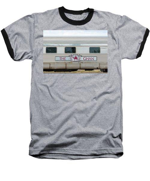 Ghan Train At Alice Springs Baseball T-Shirt