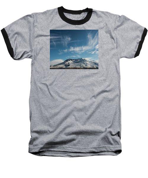 Ghost Clouds Baseball T-Shirt