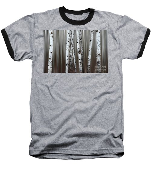 Ghost Forest 1 Baseball T-Shirt by Bob Christopher